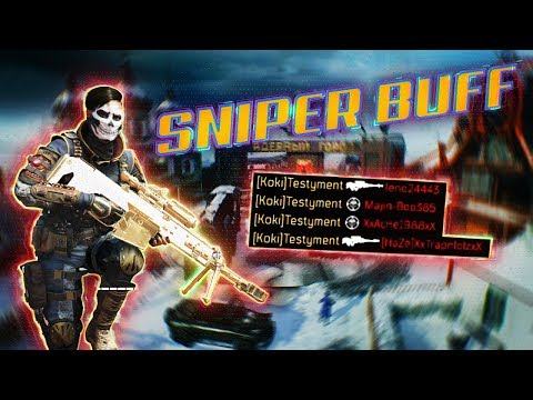 new SNIPER BUFF and NUKETOWN..