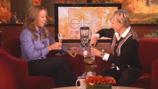 Mariah Carey on 'Ellen' Outing Her Pregnancy in 2008