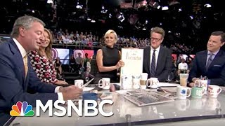 This Is An Honor From His Honor.   Morning Joe   MSNBC