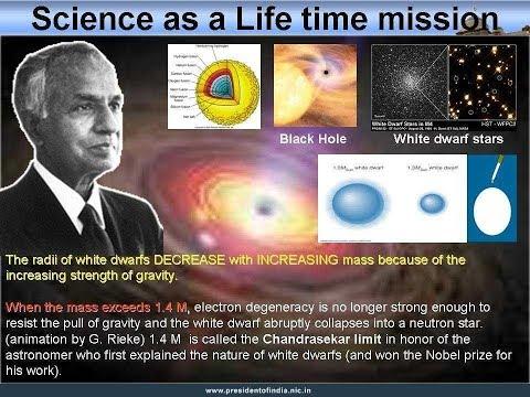 S. chandrasekhar    Subrahmanyan Chandrasekhar    s. Chandrasekhar Nobel de physique
