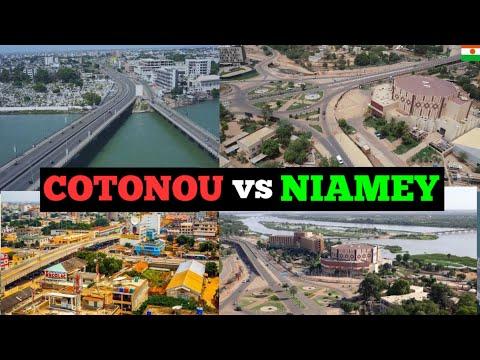 Cotonou Benin vs Niamey Niger; Which City is Most Beautiful? Quelle Ville est la Plus Belle