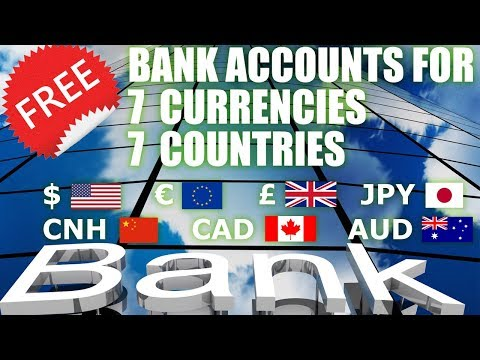 How To Open FREE BANK ACCOUNTS For USD $ , EURO € , GBP £ - 7 Foreign Accounts - Payoneer