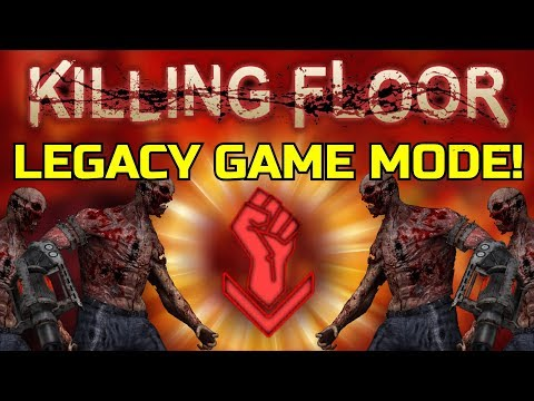 Killing Floor 1 The Legacy Mod A Lot Of Custom Zeds And They Hurt Quite A Lot Youtube