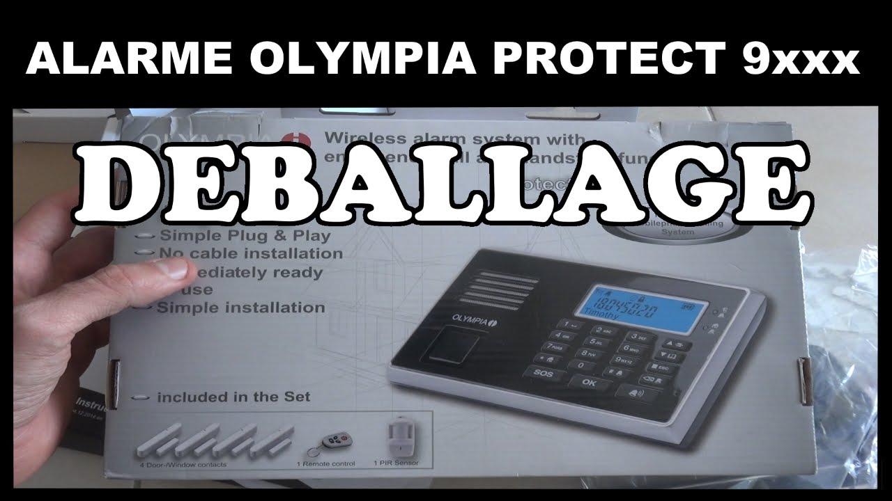 alarme olympia