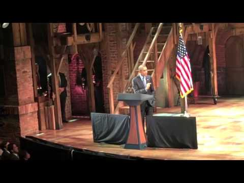 President Obama - Hamilton 11-2-15 (FULL SPEECH)