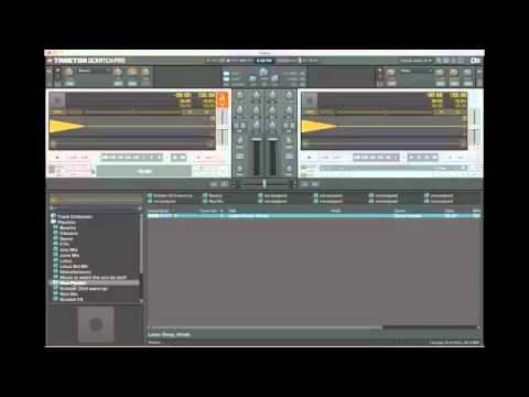 Create playlists & use preparation list function in Traktor