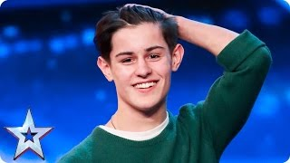 Singer-songwriter Reuben Gray does his dad proud | Auditions Week 2 | Britain's Got Talent 2017 thumbnail