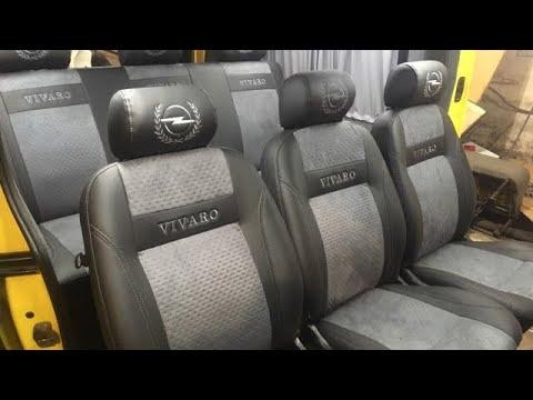 Обшивка и переоборудование салона Opel Vivaro после уменьшения акциза - ELITBUS
