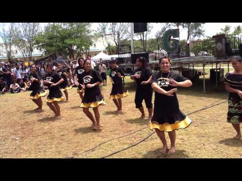 PSO girls @university of guam charter day 2013