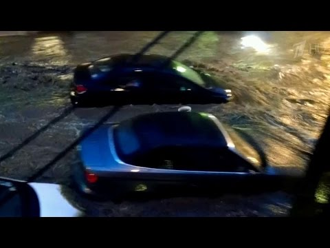 Видео, В американском штате Мэриленд подсчитывают ущерб от разрушительного наводнения