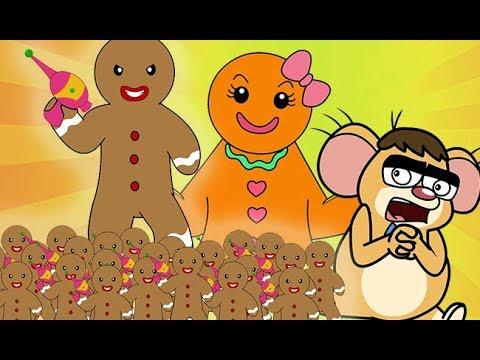 Rat A Tat All The Gingerbread Men Vs Mice Brothers Cartoons Chotoonz Kids Funny Cartoon Videos Youtube