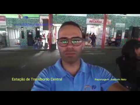 Reportagem sobre a movimentação e infraestrutura no Terminal Central