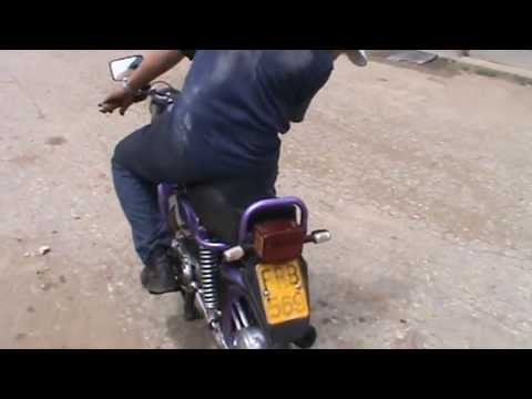 Motorcycle Loading Ramp >> motor en cuba - YouTube