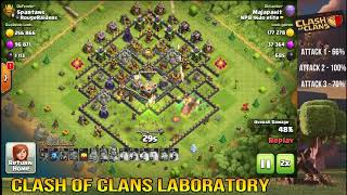 Episode 5 | Clash of Clans | TH11 Trophy / Farming base Testing | All Legendary attacks