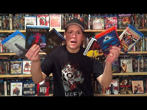 My Blu-ray Collection Update 2/6/16 : Blu ray and Dvd Movie Reviews
