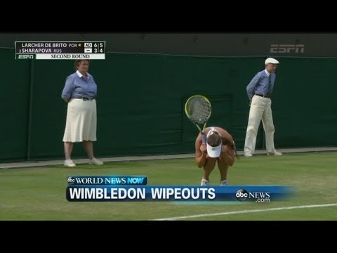 ABC World News Now - WEBCAST: Wimbledon Wipeouts