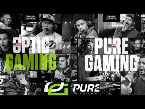 Pure Gaming Vs. Optic Gaming | Gears Pro Circuit Mexico City Open Day 1 | 01.26.2017