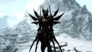 Skyrim:Мод на даэдрическую броню