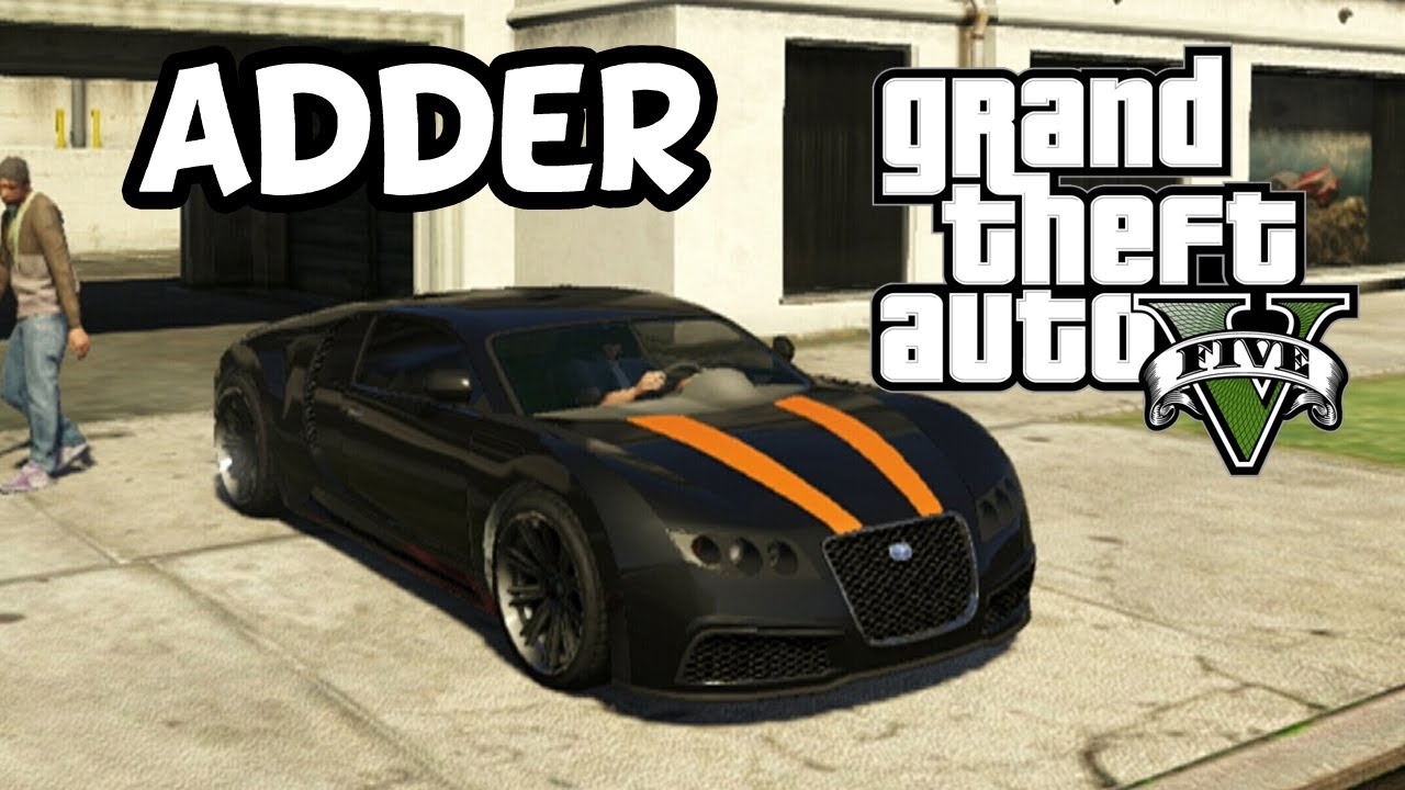 grand theft auto 5 secret car location adder bugatti veyron youtube. Black Bedroom Furniture Sets. Home Design Ideas
