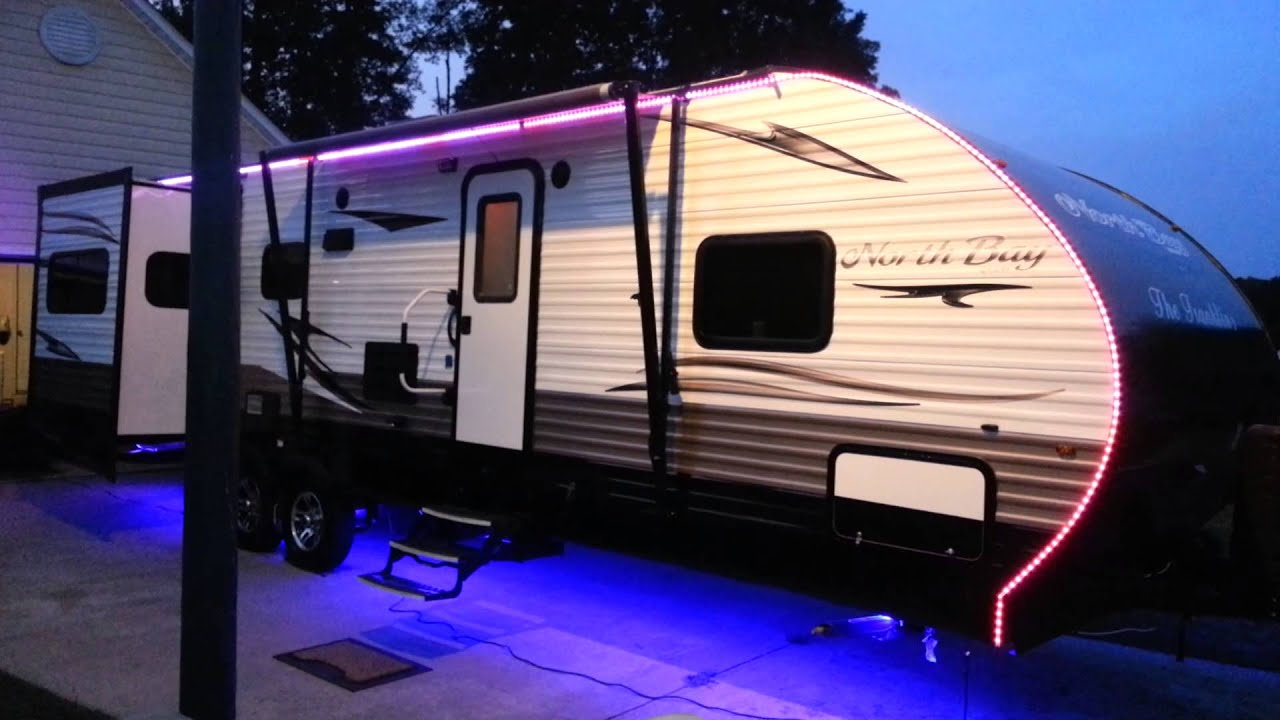 UPDATED RV LED LIGHT STRIPS - YouTube