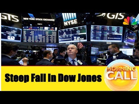 Steep Fall In US Market | Dow Jones Slips 150 Points | Busin
