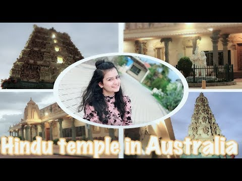 Hindu Temple In Australia | Indian Girl In Australia | Australia Darshan