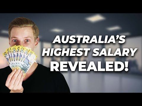 Australia's Highest Paid Jobs REVEALED!