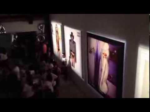 Lady Gaga ARTPOP Gallery LA costumes & 360 overhead view