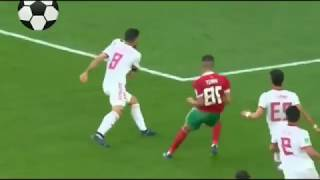 Morocco vs Iran 0-1 Highlights English Commentary