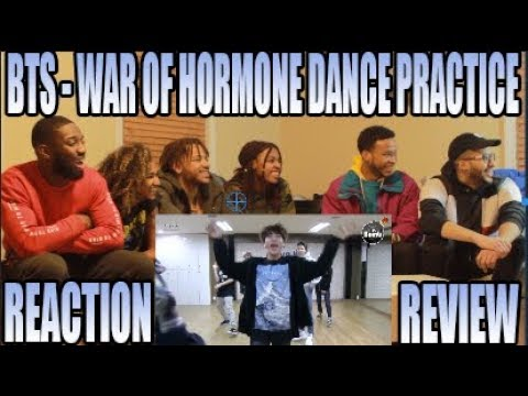 BTS 방탄소년단  WAR OF HORMONE  DANCE PRACTICE 호르몬 전쟁 REACTIONREVIEW