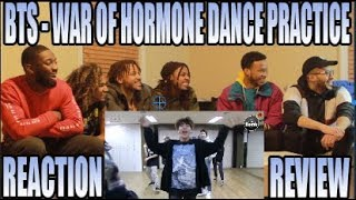 Video BTS 방탄소년단 - WAR OF HORMONE  DANCE PRACTICE 호르몬 전쟁 REACTION/REVIEW download MP3, 3GP, MP4, WEBM, AVI, FLV Mei 2018