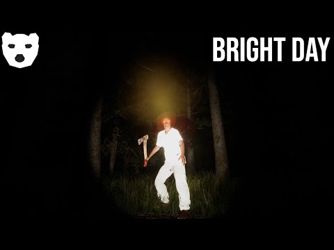 Bright Day   STALKED THROUGH THE WOODS BY A CRAZY LADY INDIE HORROR 60FPS GAMEPLAY    