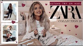 *NEW IN* ZARA AUTUMN/WINTER HAUL & TRY ON! September 2019 | The Autumn Diaries