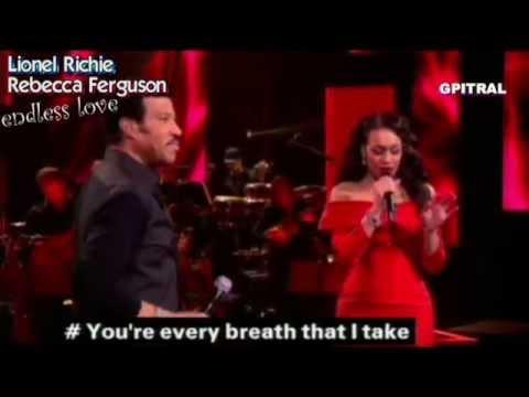 Lionel Richie Endless Love Rebecca Ferguson