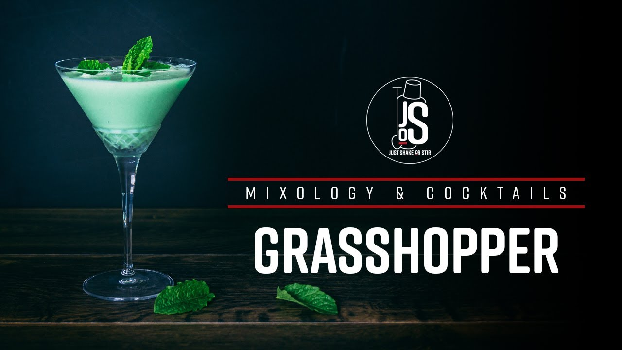 Grasshopper Refreshing Creamy Cocktail How To Make Youtube