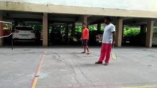 Badminton play clip 6th july 2017