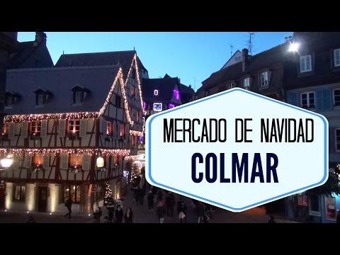 Mercado de Navidad en Colmar, Francia