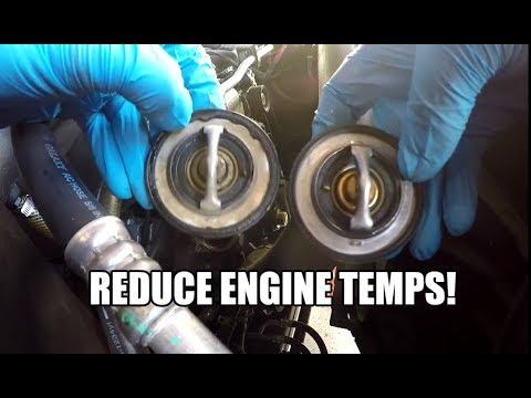 Dodge RAM 1500 HEMI 57L - 180 * Degree Thermostat Install - HOW TO
