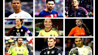 TODAS las CATEGORÍAS y NOMINADOS a los PREMIOS THE BEST FIFA 2017