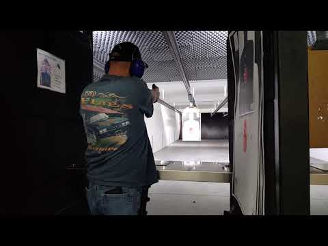 Practicing with the CZ 75 SPO1.