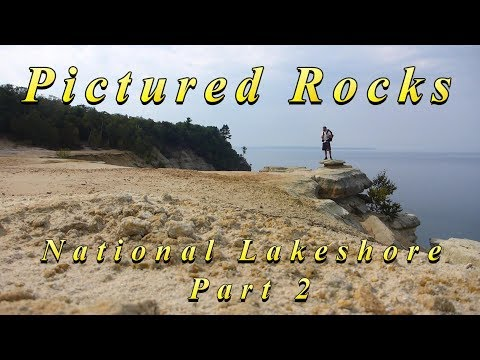 Pictured Rocks National Lakeshore - Backpacking/Hammock Camping - 42 miles on the NCT - Part 2 of 2