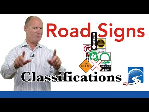 Road Signs Classifications | Passing A Road Test