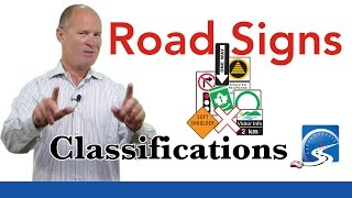 Road Sign Classifications | Passing a Road Test