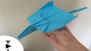 Kağıttan Uçak Nasıl Yapılır? | İlginç bir Kağıttan Uçak