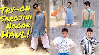 Sarojini Nagar Try-On Haul!