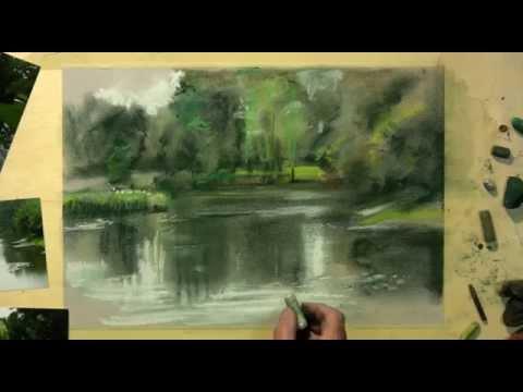 Landschaften in Pastell mit Hermann Hoormann – Uferlandschaft