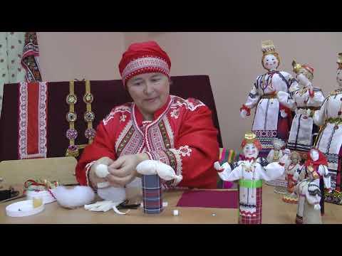 """Мастер-класс """"Этапы изготовления куклы в национальном костюме"""""""