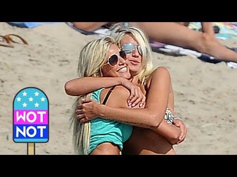 'The Ch'tis in Hollywood' Film on Venice Beach