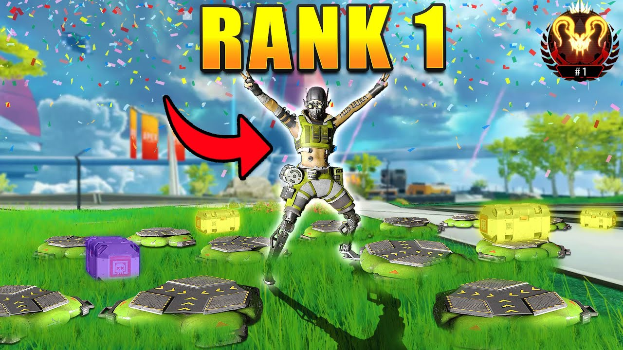 *NEW* RANK 1 OCTANE CLUTCH'S ARE AMAZING! - NEW Apex Legends Funny & Epic Moments #611