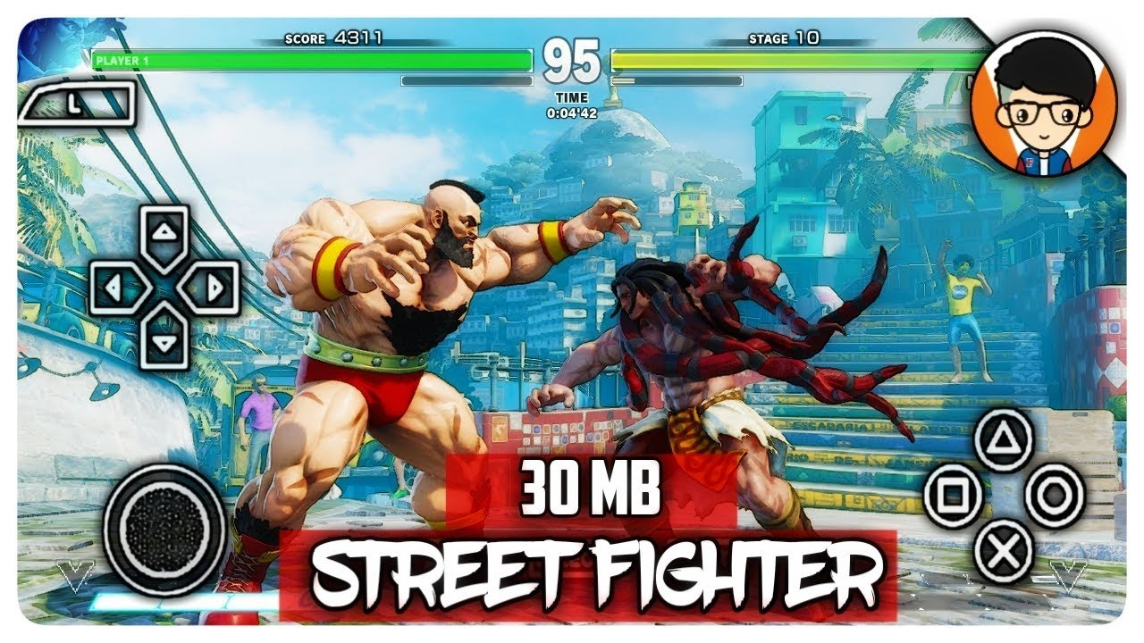 How To Download Street Fighter V For Android Highly Compressed | Proof With  Gameplay